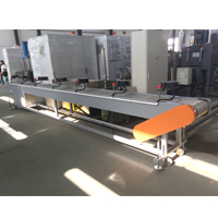 Belt Conveyor with Air-cooling Fan for Dog Food Making Extruder Machine