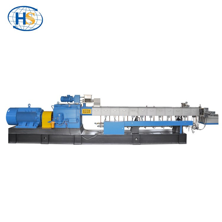 NEW TSE-75 Plastic compound Twin Screw Extruder For pelletizing