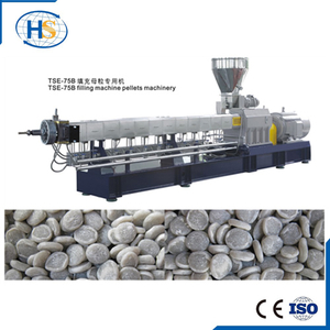 PE+Talcum powder Water Cooling Twin Screw Compounding Extruder