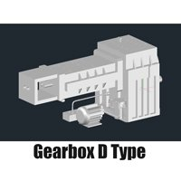 New Design German Style D Type Gearbox for Plastic Extruders