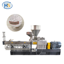 PET + 70% TiO2 High Filling Masterbatch Twin Screw Extruder Machine