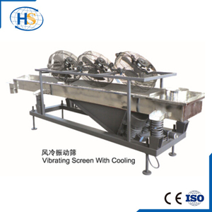 Liner Vibrating Sieve Machine in Extrusion Line