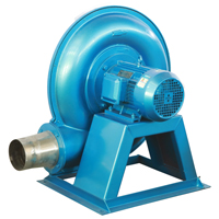 Air Blower in Plastic Extrusion Line