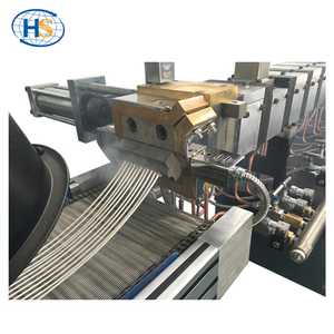PP PE + 80% Caco3 High Filler Air-cooling Strand Pelletizing Line