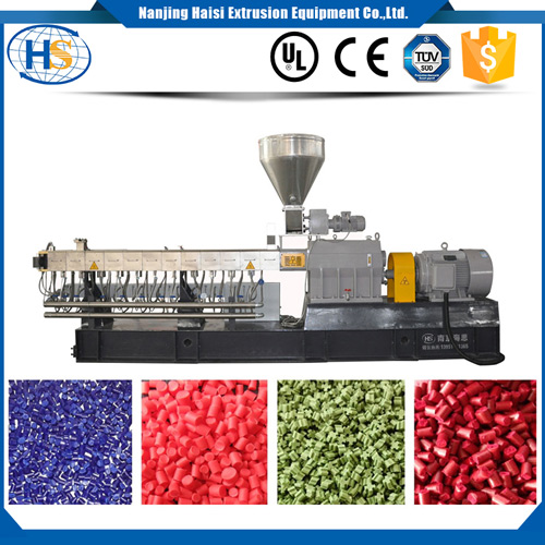 Transparent PET Masterbatch Making Twin Screw Extruder for Bottle Blowing