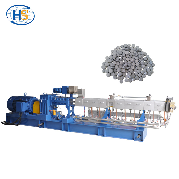counter rotating twin screw extruder for pvc compounding