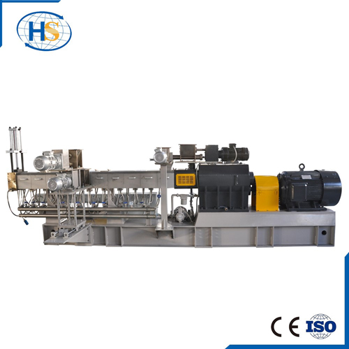 White/ Black Masterbatch Making Twin Screw Extruder with High Concentration
