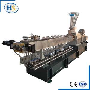 CE Certificated Nylon + Glass Fiber Plastic Twin Screw Extruder