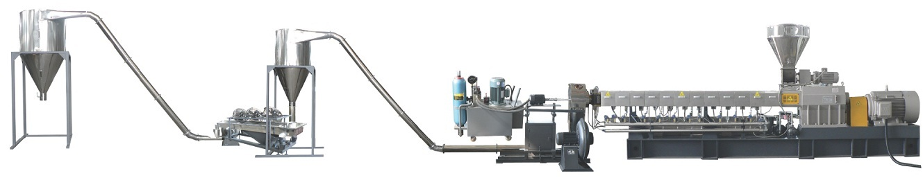 air cooling extrusion line